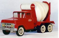 #620 the 2nd Tonka mixer 1962 with white wall tires